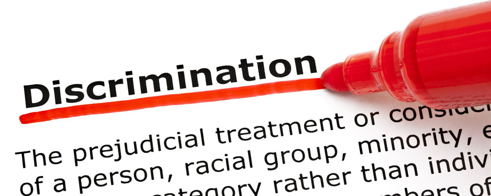 discrimintion Discrimination, the intended or accomplished differential treatment of persons or social groups for reasons of certain generalized traitsthe targets of discrimination are often minorities, but they may also be majorities, as black people were under apartheid in south africa.